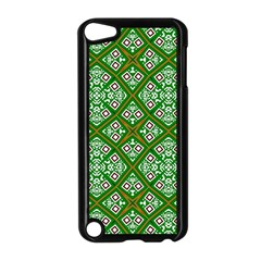 Digital Computer Graphic Seamless Geometric Ornament Apple Ipod Touch 5 Case (black) by Simbadda