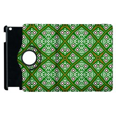 Digital Computer Graphic Seamless Geometric Ornament Apple Ipad 3/4 Flip 360 Case by Simbadda