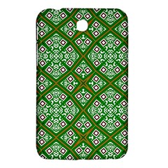 Digital Computer Graphic Seamless Geometric Ornament Samsung Galaxy Tab 3 (7 ) P3200 Hardshell Case  by Simbadda