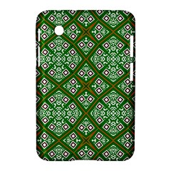 Digital Computer Graphic Seamless Geometric Ornament Samsung Galaxy Tab 2 (7 ) P3100 Hardshell Case  by Simbadda