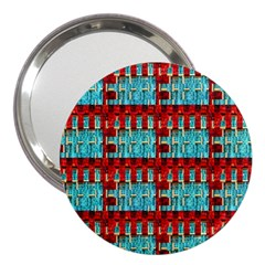 Architectural Abstract Pattern 3  Handbag Mirrors