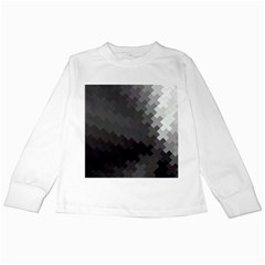 Abstract Pattern Moving Transverse Kids Long Sleeve T Shirts