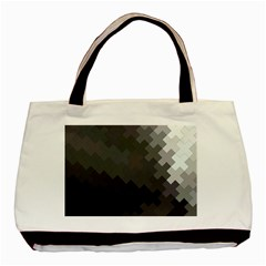 Abstract Pattern Moving Transverse Basic Tote Bag by Simbadda