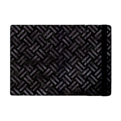 Woven2 Black Marble & Black Watercolor Apple Ipad Mini Flip Case