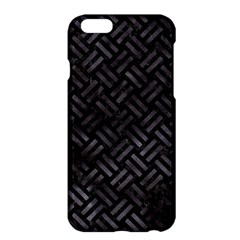 Woven2 Black Marble & Black Watercolor Apple Iphone 6 Plus/6s Plus Hardshell Case by trendistuff