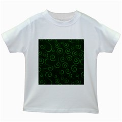 Pattern Kids White T Shirts