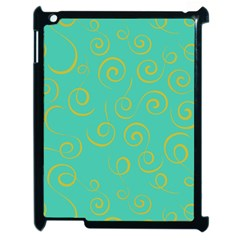 Pattern Apple Ipad 2 Case (black) by Valentinaart