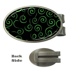 Pattern Money Clips (oval)  by Valentinaart