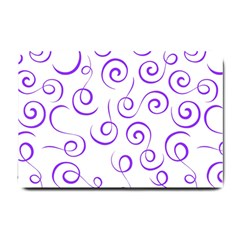 Pattern Small Doormat  by Valentinaart
