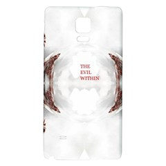 The Evil Within Demon 3d Effect Galaxy Note 4 Back Case by 3Dbjvprojats