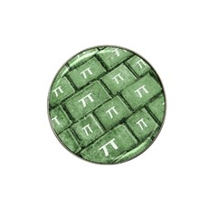 Pi Grunge Style Pattern Hat Clip Ball Marker by dflcprints