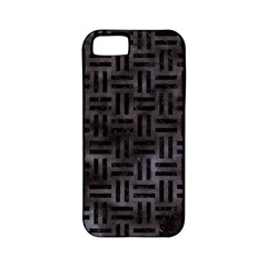 Woven1 Black Marble & Black Watercolor (r) Apple Iphone 5 Classic Hardshell Case (pc+silicone) by trendistuff