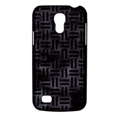 Woven1 Black Marble & Black Watercolor (r) Samsung Galaxy S4 Mini (gt I9190) Hardshell Case  by trendistuff