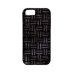 Woven1 Black Marble & Black Watercolor Apple Iphone 5 Classic Hardshell Case (pc+silicone) by trendistuff