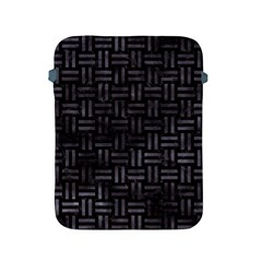 Woven1 Black Marble & Black Watercolor Apple Ipad 2/3/4 Protective Soft Case by trendistuff
