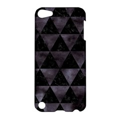 Triangle3 Black Marble & Black Watercolor Apple Ipod Touch 5 Hardshell Case by trendistuff