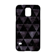 Triangle3 Black Marble & Black Watercolor Samsung Galaxy S5 Hardshell Case  by trendistuff