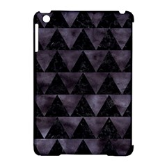 Triangle2 Black Marble & Black Watercolor Apple Ipad Mini Hardshell Case (compatible With Smart Cover) by trendistuff