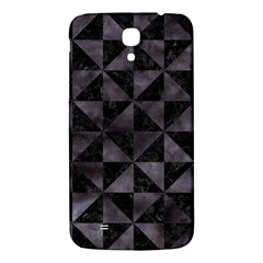 Triangle1 Black Marble & Black Watercolor Samsung Galaxy Mega I9200 Hardshell Back Case by trendistuff