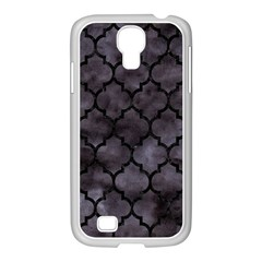 Tile1 Black Marble & Black Watercolor (r) Samsung Galaxy S4 I9500/ I9505 Case (white) by trendistuff