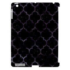 Tile1 Black Marble & Black Watercolor Apple Ipad 3/4 Hardshell Case (compatible With Smart Cover) by trendistuff