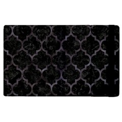 Tile1 Black Marble & Black Watercolor Apple Ipad 3/4 Flip Case by trendistuff