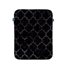 Tile1 Black Marble & Black Watercolor Apple Ipad 2/3/4 Protective Soft Case by trendistuff