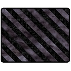 Str3 Bk Mrbl Bk Wclr (r) Fleece Blanket (medium)  by trendistuff