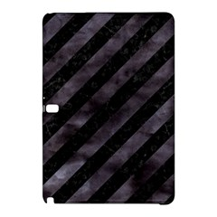 Stripes3 Black Marble & Black Watercolor Samsung Galaxy Tab Pro 10 1 Hardshell Case by trendistuff