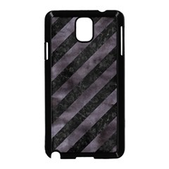 Stripes3 Black Marble & Black Watercolor Samsung Galaxy Note 3 Neo Hardshell Case (black) by trendistuff