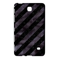 Stripes3 Black Marble & Black Watercolor Samsung Galaxy Tab 4 (8 ) Hardshell Case  by trendistuff