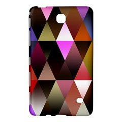Triangles Abstract Triangle Background Pattern Samsung Galaxy Tab 4 (8 ) Hardshell Case