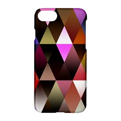 Triangles Abstract Triangle Background Pattern Apple Iphone 7 Hardshell Case