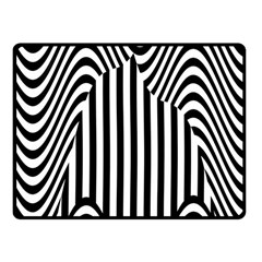 Stripe Abstract Stripped Geometric Background Fleece Blanket (small)