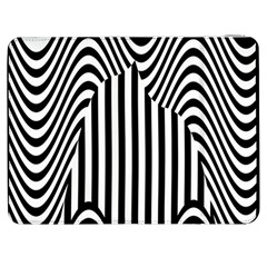 Stripe Abstract Stripped Geometric Background Samsung Galaxy Tab 7  P1000 Flip Case by Simbadda