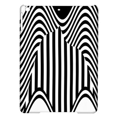 Stripe Abstract Stripped Geometric Background Ipad Air Hardshell Cases by Simbadda