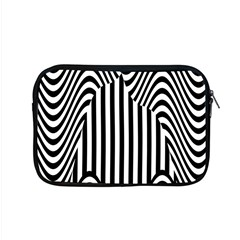 Stripe Abstract Stripped Geometric Background Apple Macbook Pro 15  Zipper Case by Simbadda