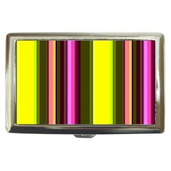 Stripes Abstract Background Pattern Cigarette Money Cases