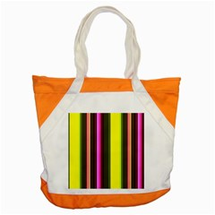 Stripes Abstract Background Pattern Accent Tote Bag
