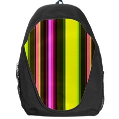 Stripes Abstract Background Pattern Backpack Bag