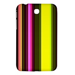 Stripes Abstract Background Pattern Samsung Galaxy Tab 3 (7 ) P3200 Hardshell Case