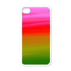 Watercolour Abstract Paint Digitally Painted Background Texture Apple Iphone 4 Case (white)