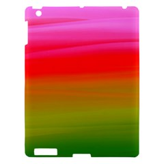 Watercolour Abstract Paint Digitally Painted Background Texture Apple Ipad 3/4 Hardshell Case by Simbadda