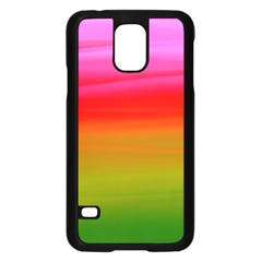 Watercolour Abstract Paint Digitally Painted Background Texture Samsung Galaxy S5 Case (black) by Simbadda