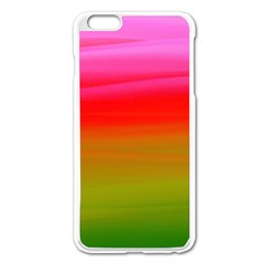 Watercolour Abstract Paint Digitally Painted Background Texture Apple Iphone 6 Plus/6s Plus Enamel White Case