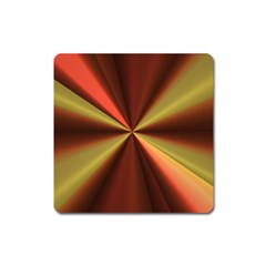Copper Beams Abstract Background Pattern Square Magnet