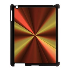 Copper Beams Abstract Background Pattern Apple Ipad 3/4 Case (black)