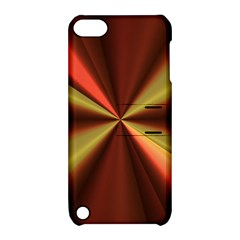 Copper Beams Abstract Background Pattern Apple Ipod Touch 5 Hardshell Case With Stand by Simbadda