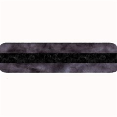 Stripes2 Black Marble & Black Watercolor Large Bar Mat by trendistuff