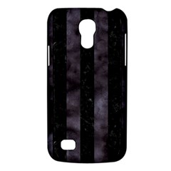 Stripes1 Black Marble & Black Watercolor Samsung Galaxy S4 Mini (gt I9190) Hardshell Case  by trendistuff